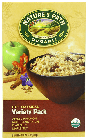 Nature's Path Organic Oatmeal